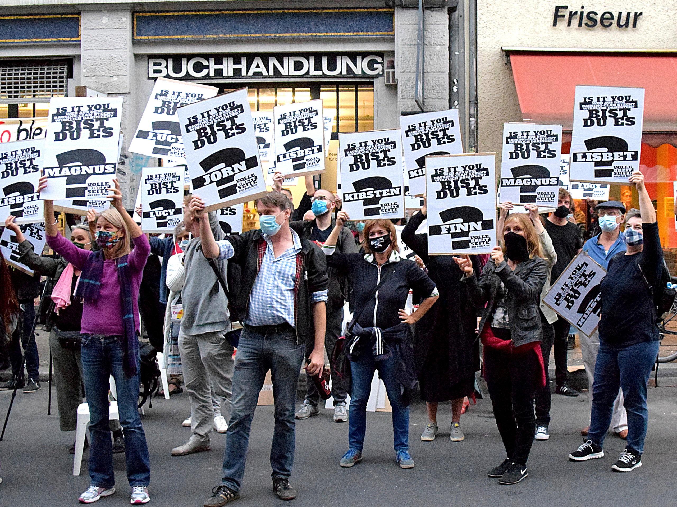 Die Kiezbuchhandlung gegen die Milliardäre – Petition